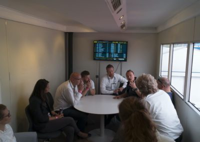 Business Lounge Umsetzung für DHL