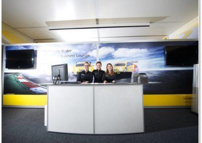 Business Lounge Umsetzung für die Deutsche Post AG