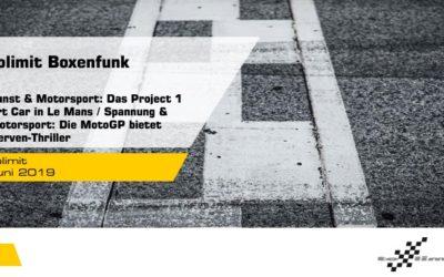 Team Project 1 mit Art Car bei den 24h Le Mans