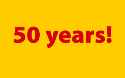 50 years DHL
