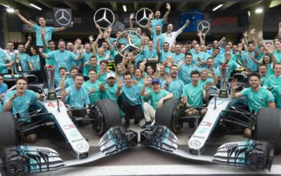 Mercedes is writing history